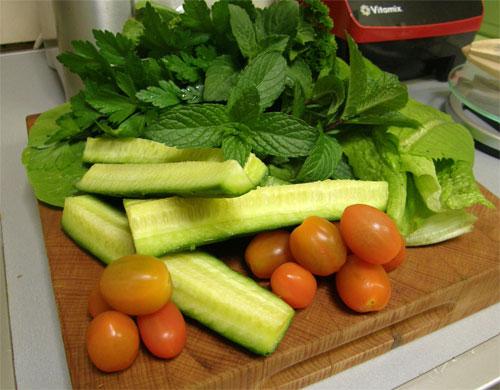savoury greens