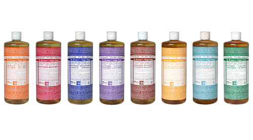 18 uses for dr bronner s soaps in the tea garden. Black Bedroom Furniture Sets. Home Design Ideas