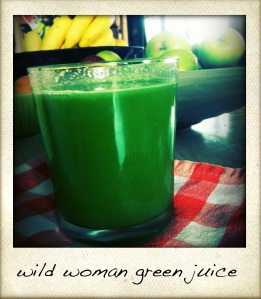 wild woman green juice